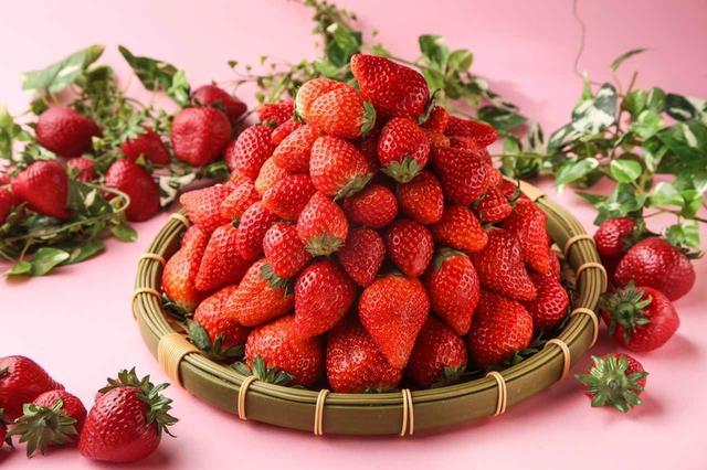 画像: フレッシュあまおう ≪食べ放題≫ 果実の大きなあまおうは、そのまま頬張ると甘味が口いっぱいに広がります。いちご狩り気分で食べ放題を存分にお楽しみください。