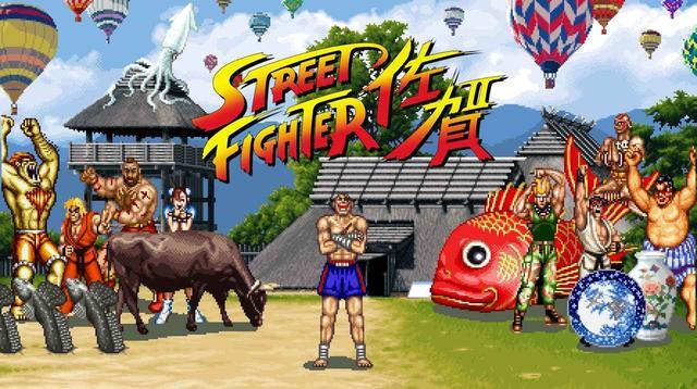 画像1: 佐賀県がシリーズ30周年を迎えた『ストリートファイターII』とコラボ!サガットが佐賀ットに改名!?