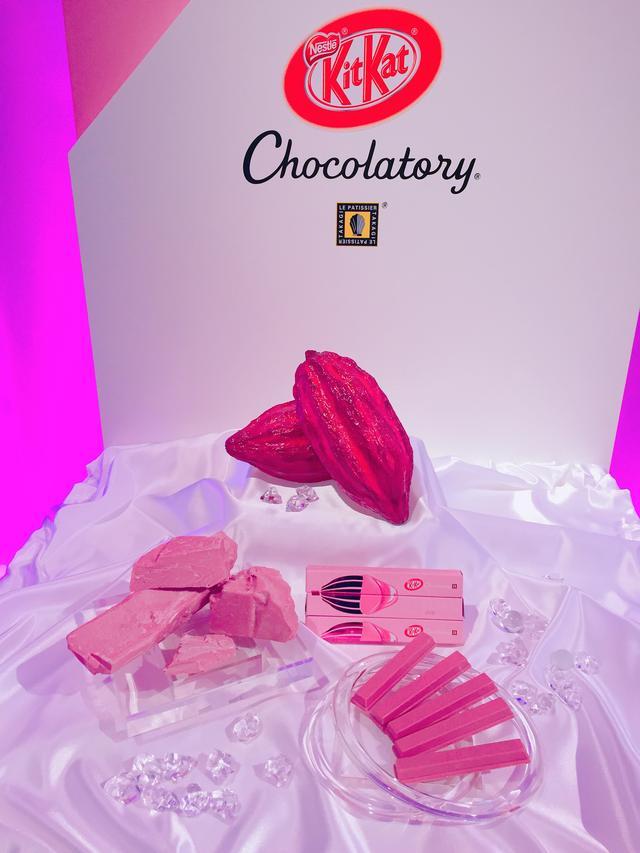 画像: 世界初!ルビーチョコレートとは??