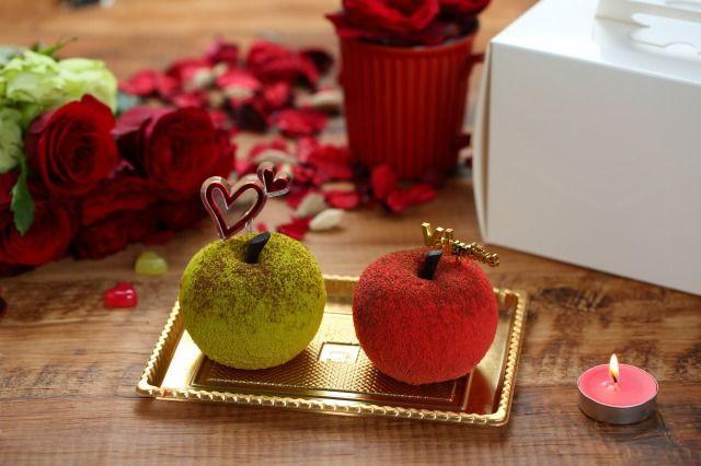 画像1: 【バレンタイン限定】ちょっぴりビターで甘酸っぱい「原宿りんご」予約スタート!