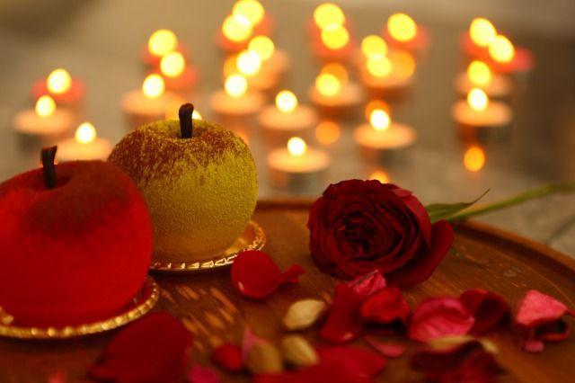 画像2: 【バレンタイン限定】ちょっぴりビターで甘酸っぱい「原宿りんご」予約スタート!