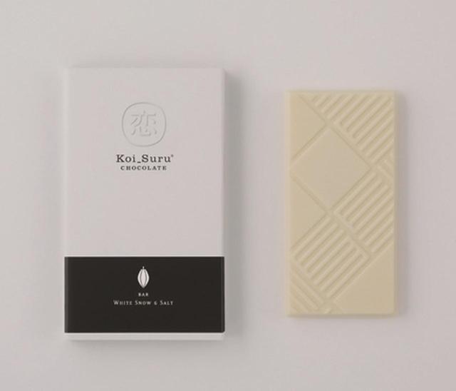 画像: ■ホワイトチョコレートと塩 白い恋人のホワイトチョコレートをアレンジし、北海道サロマ湖水100%のあら塩を練りこみました。クリーミーな甘みと、自然からとれた塩の旨味のバランスが絶妙です。