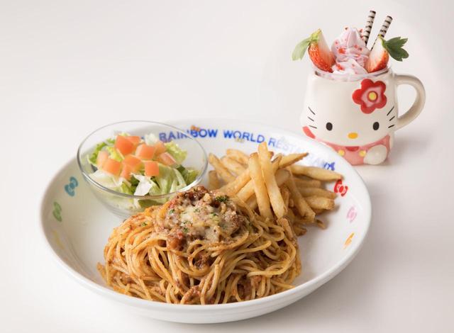 画像: パスタプレート キャラクターデザートカップ付き1,600円