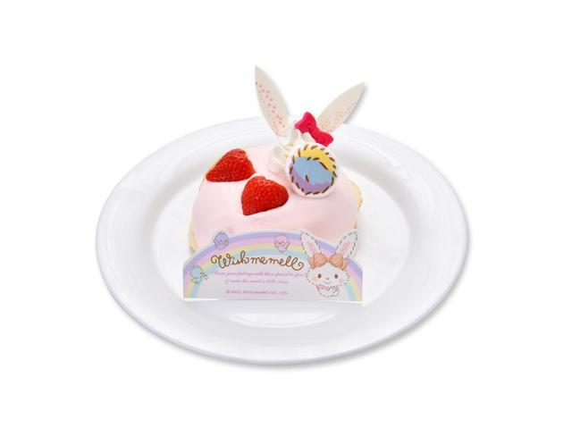 画像: ウィッシュミーメルのピンクリコッタパンケーキ ¥900