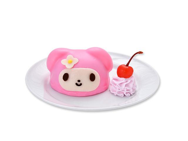 画像: ピンクコーデのマイメロディケーキ ¥800