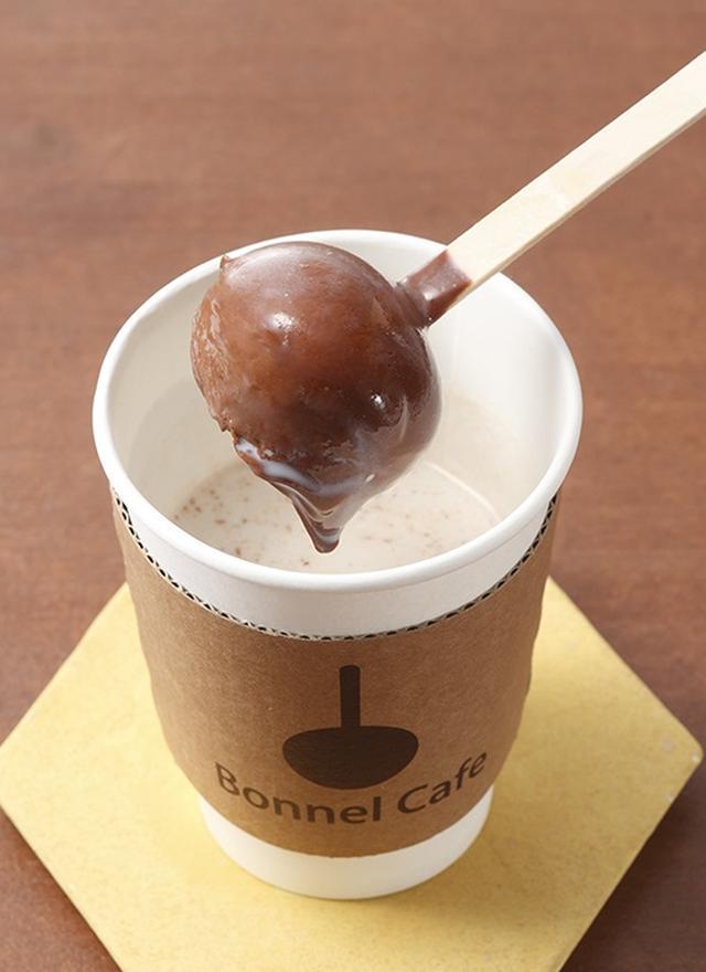 画像: 『ボンヌ カフェ』ホットスティックチョコレート(ミルク付) 580円から
