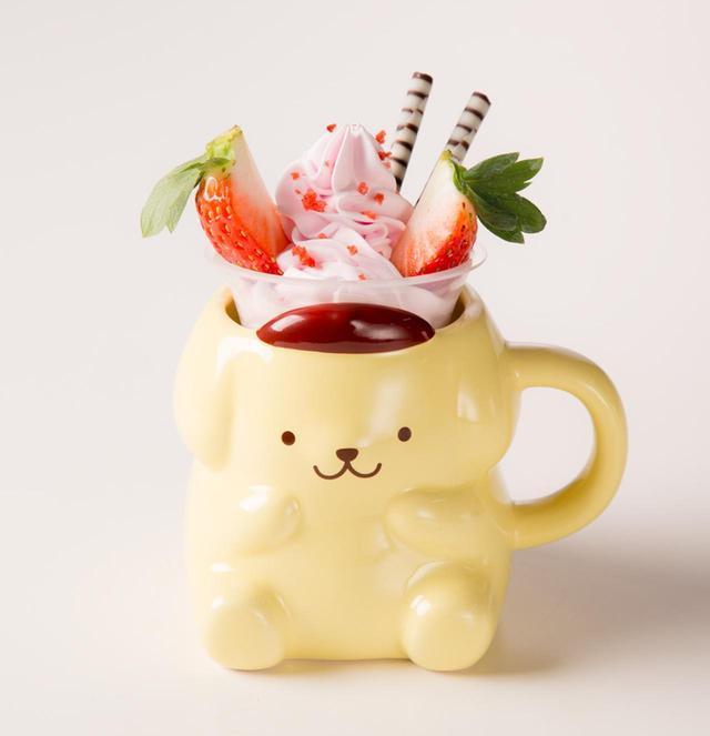画像3: キャラクターデザートカップ各¥650(カップ含む)