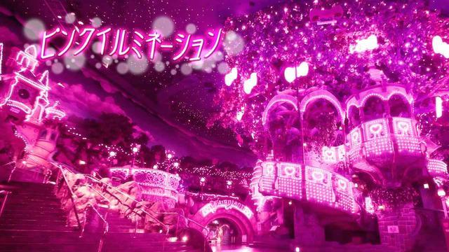 画像: ピューロビレッジがピンク色に染まるロマンティックなひととき「ピンクイルミネーション」