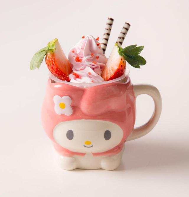 画像2: キャラクターデザートカップ各¥650(カップ含む)