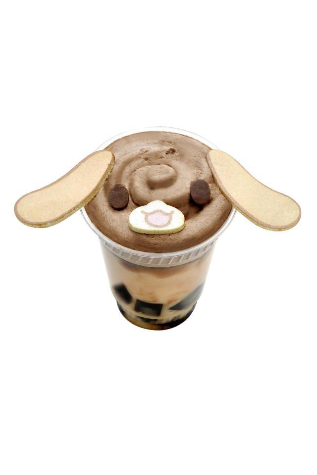 画像: カプチーノのコーヒープリンシェイク¥600