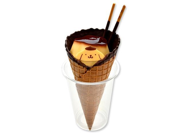 画像: ポムポムプリンのチョコーンパフェ ¥800