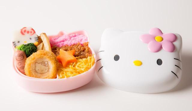 画像: ハローキティがいっぱい!3色弁当 1,250円