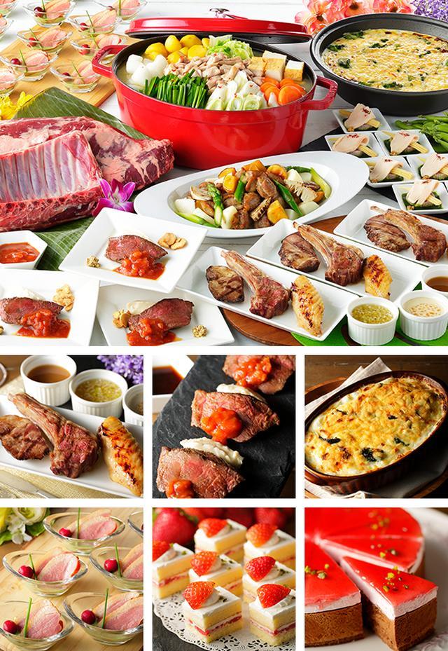 画像: 豪快肉祭り&いちごスイーツfesta | スパリゾートハワイアンズ