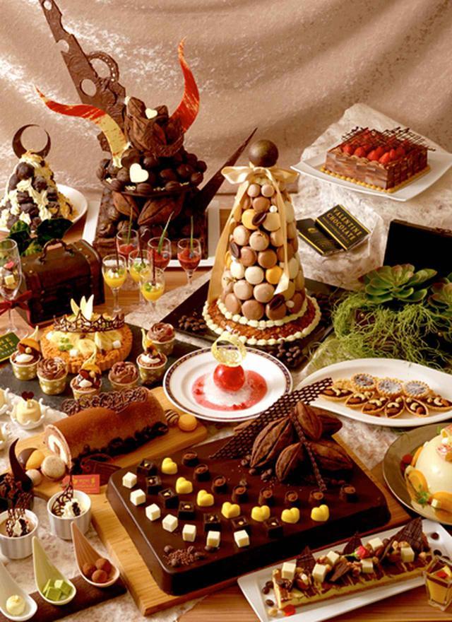 画像1: 【限定】ホテルセントラーザ博多の「バレンタインチョコレートブッフェ」