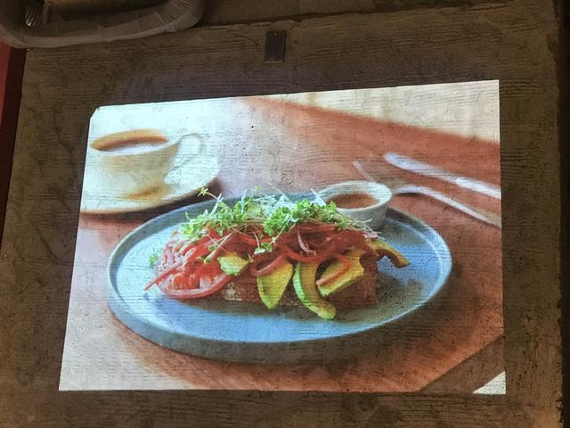 画像: 鎌倉野菜のオープンサンド/700円(税抜き)