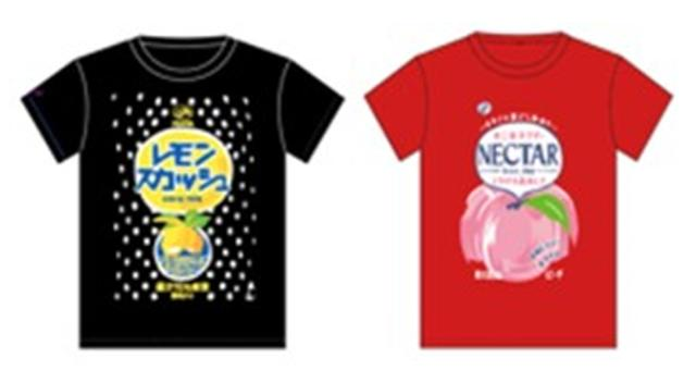 画像: Tシャツネクター、レモンスカッシュ/各3,132円