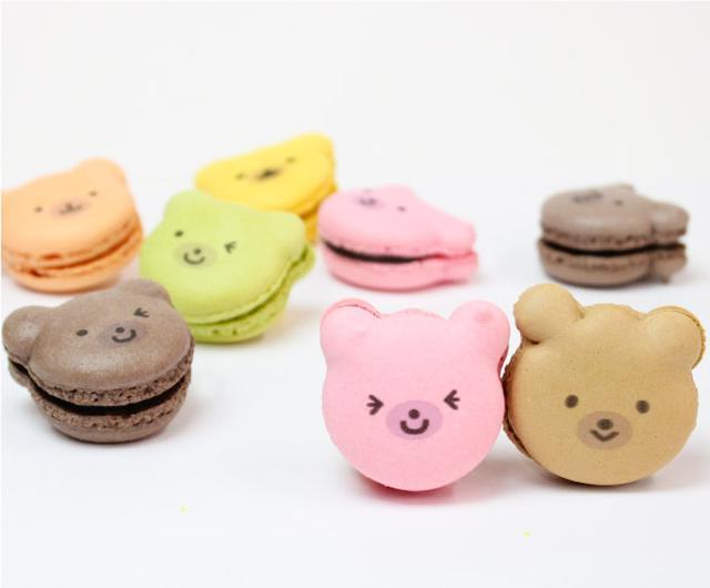 画像: クマカロン|イリナスイーツコレクション-irina sweets collection-公式サイト