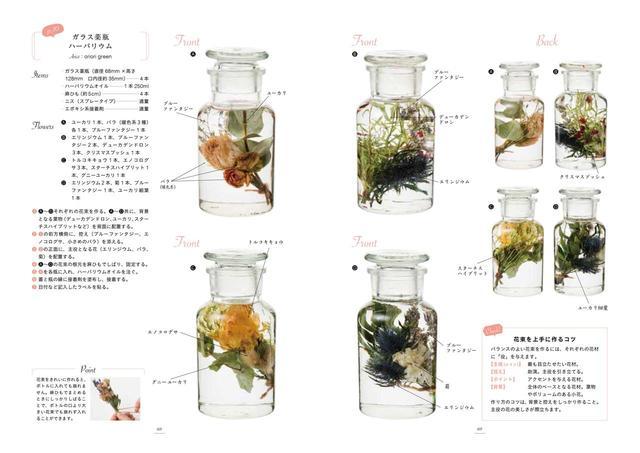 画像3: 女性に大人気!お花をオイルでビンに詰めた植物雑貨「ハーバリウム」の作り方とは?