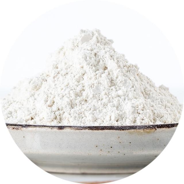 画像: ホワイトクレイ 肌の構成成分と似ている植物ステロールや、ミネラルが豊富。 肌に優しく、春の刺激物を取り除きます。