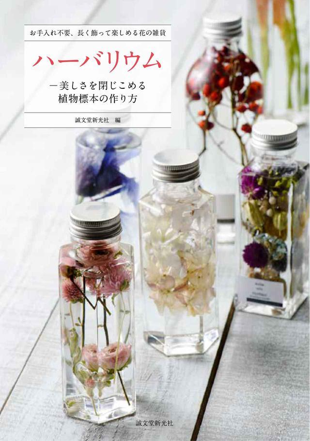 画像4: 女性に大人気!お花をオイルでビンに詰めた植物雑貨「ハーバリウム」の作り方とは?