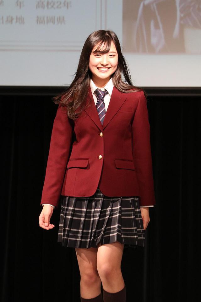 画像: 人一倍の笑顔が魅力的な女子準グランプリ悠花さん