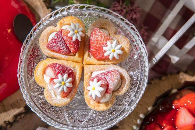 画像11: 「いちごに恋するガーデンパーティー」~ストロベリーデザートブッフェ~