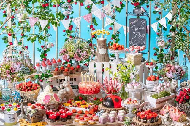 画像1: 「いちごに恋するガーデンパーティー」~ストロベリーデザートブッフェ~