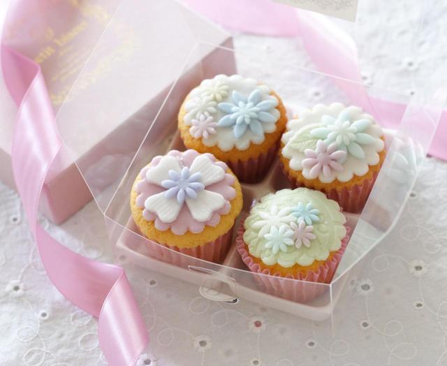 """画像1: 女子の""""ときめき""""を詰めたカップケーキ&焼き菓子店 『petit bisou』"""