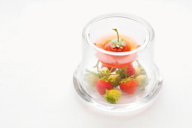 画像2: さまざまな苺のデザートを堪能できるメニュー