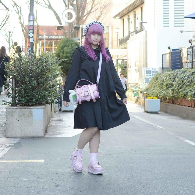 画像2: この春のトレンドカラーである、ピンクが目を引くコーディネイト