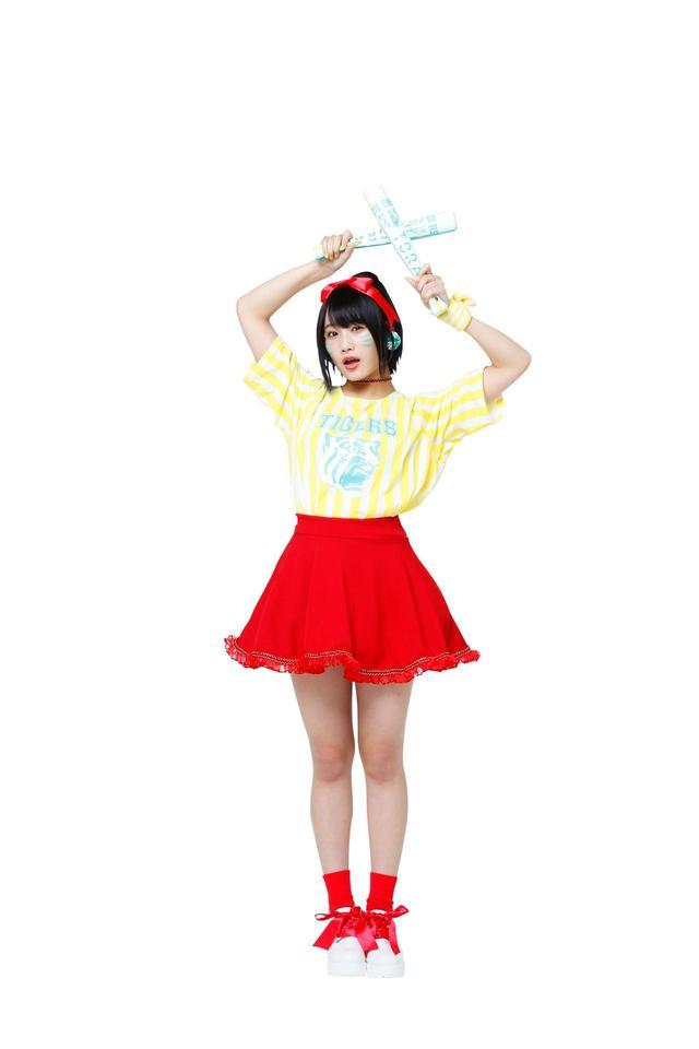 画像: ○城恵理子 私はずっとタイガースファンで、親と観戦にも来るんですよ♪私と同じサウスポーつながりで弟と同じ名前の高橋遥人選手を応援してます。