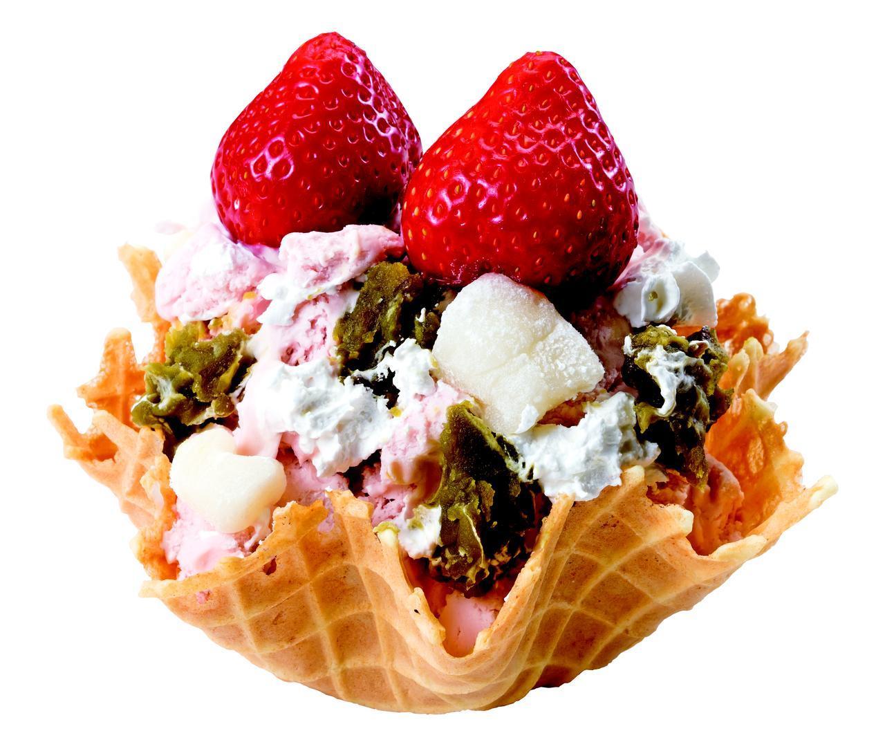画像5: 大人気のアイスクリームが今年も登場!春のごちそう♪「あまおう」シリーズ新発売