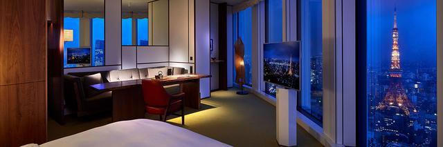 画像: 銀座、新橋近くの新たなランドマーク虎ノ門ヒルズ内の高級ホテル アンダーズ東京