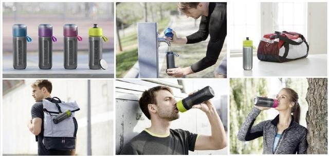 画像6: スクイーズタイプのボトルでゴクゴク飲める!浄水フィルター付きボトル「fill&go Active」登場