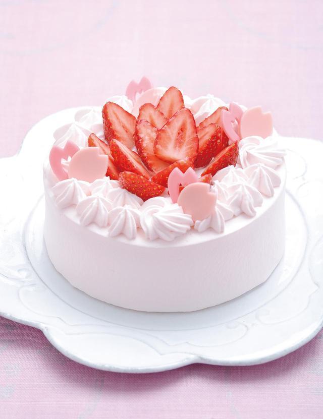 画像: 桃の節句のお祝いに!特別なショートケーキ