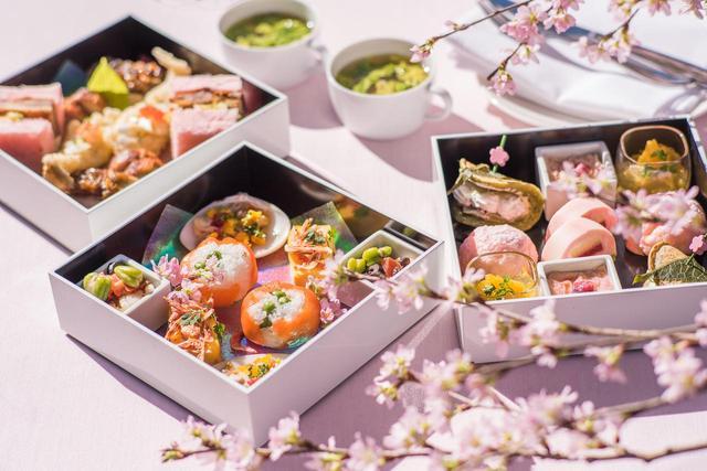 画像: 桜の名所「御殿山」で美食を楽しむ 春を彩る雅なランチメニュー