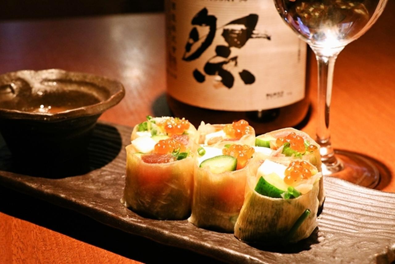 画像4: カフェのような女性向け居酒屋で日本酒19種飲み放題!