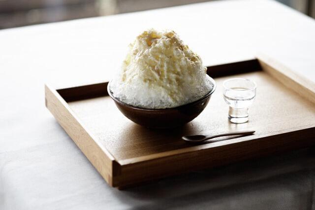 画像3: 絶景の山床カフェでオリジナルスパークリング日本酒や発酵かき氷を楽しむ
