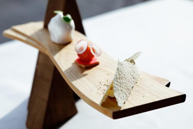 画像4: 絶景の山床カフェでオリジナルスパークリング日本酒や発酵かき氷を楽しむ