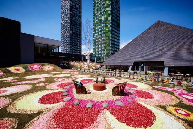 画像: 滞在を通して花を楽しむイベント「花咲くトマム」