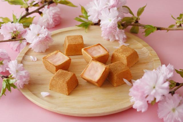 画像: 春のチーズケーキ(さくら味) 3個入 918円(税込)/6個入 1,836円(税込)