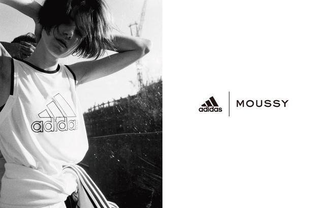 画像1: adidas&MOUSSY共同開発商品第三弾、発売決定!
