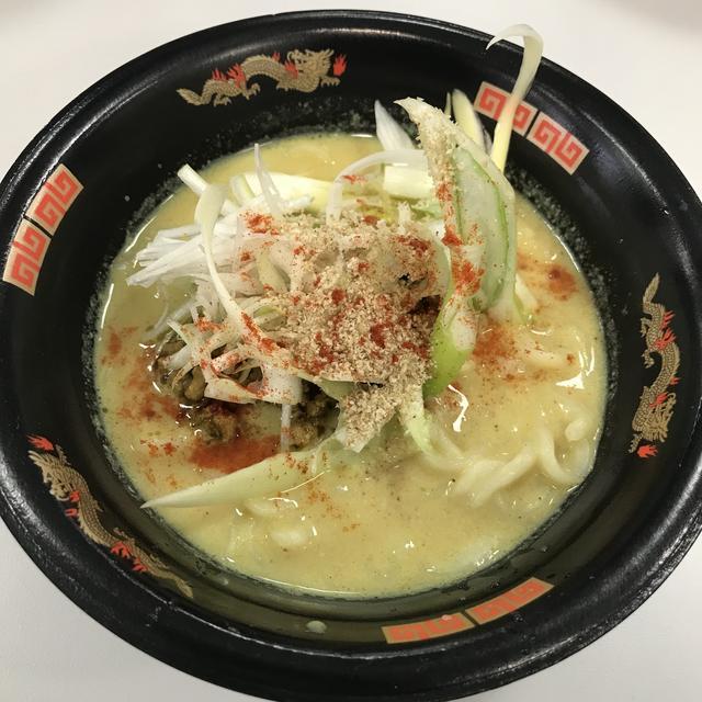 画像: 佐野ラーメン・カレー版を試食しました!カレーはそこまで辛くなく美味しかったです。