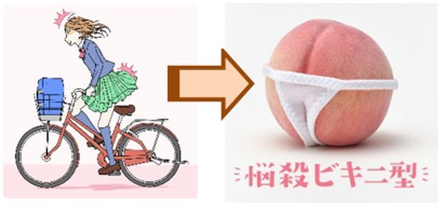画像: ■自転車を立ちこぎしている時 悩殺ビキニ型 パンツがセクシーな水着のシルエットに早変わり。激しくチャリを立ちこぎした時によく食らう。
