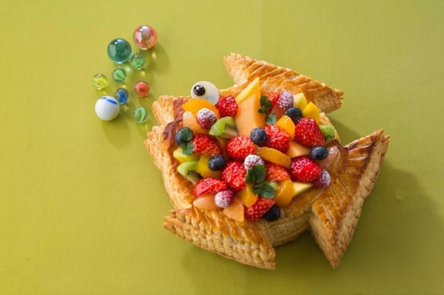 画像: エイプリルフールは「ポワソンダブリル」で!魚をモチーフにしたパイが予約開始