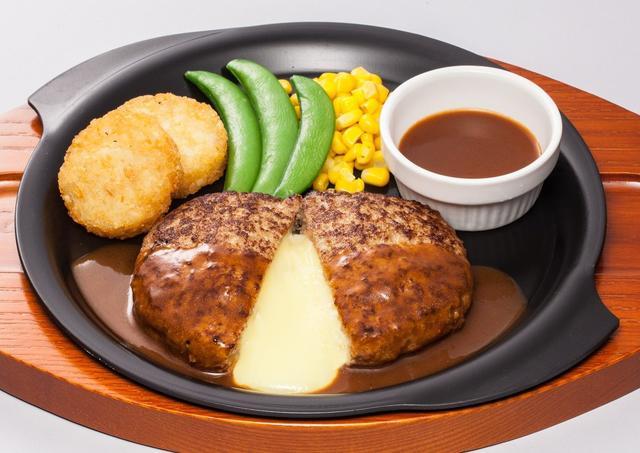 画像: チーズINハンバーグ  399円  【通常価格599円】