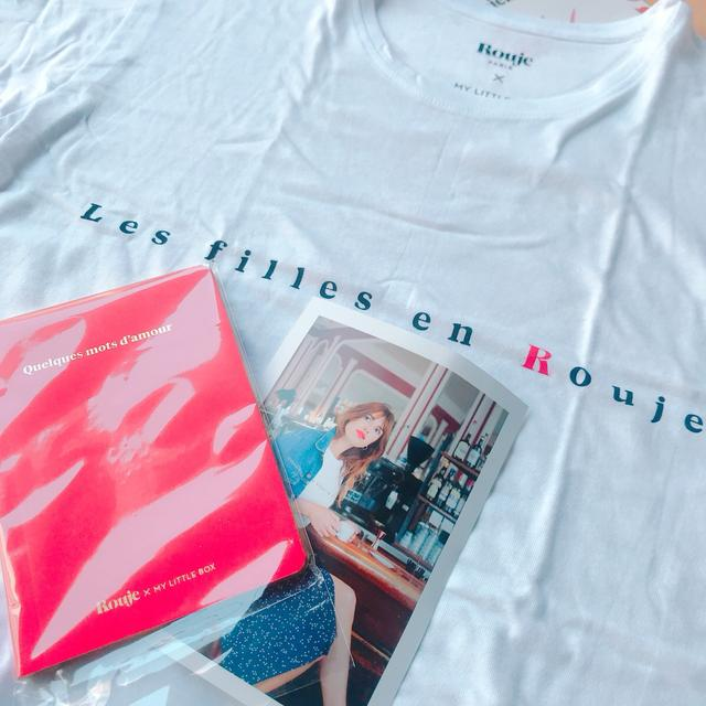 画像: 『Rouje』ホワイトTシャツ&オリジナルノート