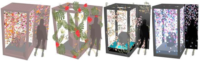 画像2: お花でトイレをデコレーション!夢のような空間に