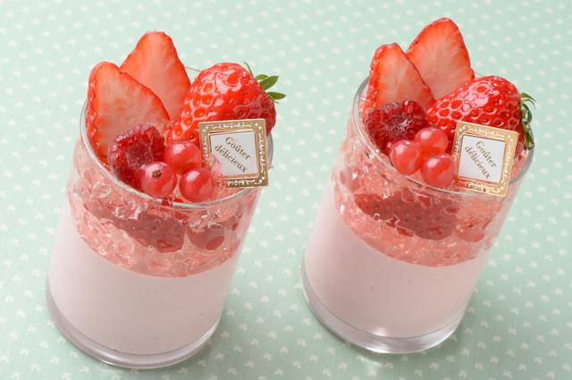 画像: 桜と苺のヴェリーヌ/480円(税抜)