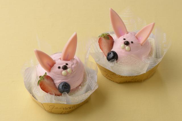 画像: うさぎのイースターロールケーキ/520円 ※1日20個限定